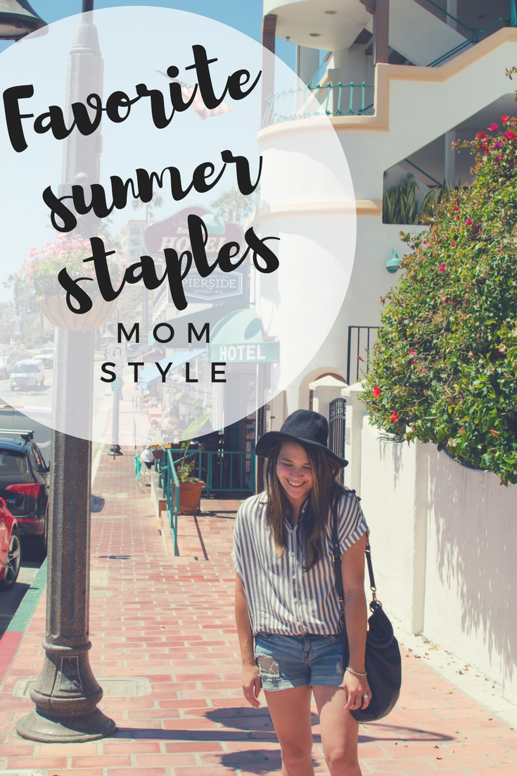 Summer Staples Mom Style
